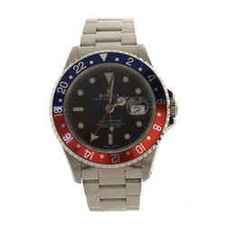 Oyster Perpetual Date GMT-Master Pepsi Automatic Watch Stainless Steel 40