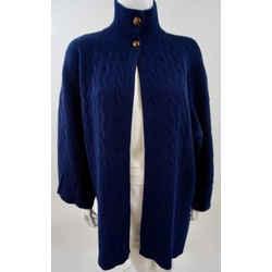 Ralph Lauren Blue Wrap Sweater Size M/l Ralph Lauren Blue Wrap Sweater Size M/l