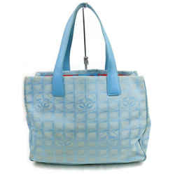 Chanel New Line Tote Bag Blue 858439