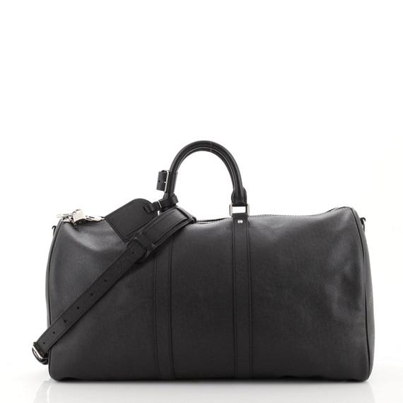 Keepall Bandouliere Bag Taiga Leather 50