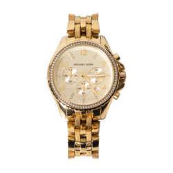 Michael Kors Gold-tone Oversized Watch