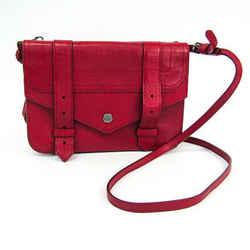 Proenza Schouler Unisex Leather Shoulder Bag Red Bf505156