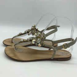 Giuseppe Zanotti T Strap Crystal Size 6