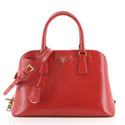 Promenade Bag Vernice Saffiano Leather Medium