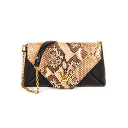 Louis Vuitton LockMe Snake Skin Small Shoulder Bag