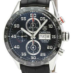 Polished TAG HEUER Carrera Chronograph Calibre 16 Steel Watch CV2A1R BF518945