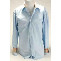 Burberry Brit Light Blue Novacheck Slim Fit