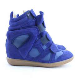 Isabel Marant Etoile Bekett Wedge High Top Sneaker 12mr0228