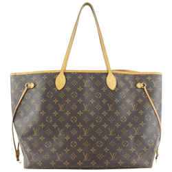 Louis Vuitton Large Monogram Neverfull GM Tote Bag 149lvs430