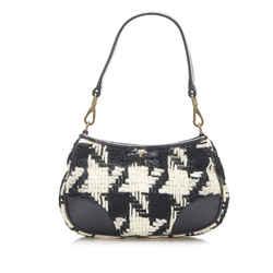 Black Miu Miu Knit Handbag Bag