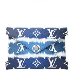 Louis Vuitton Tye Dye Monogram Escale Medium Kirigami Pochette Blue Clutch 859620