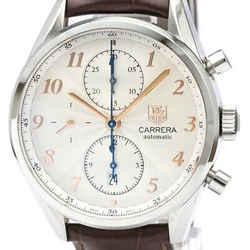 TAG HEUER Carrera Heritage Calibre 16 Chronograph Steel Watch CAS2112 BF508585