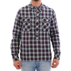 Dolce & Gabbana Multicolor Checkered Button Casual Men's Shirt