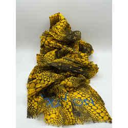 Louis Vuitton x Yayoi Kusama Infinity Waves Pumkin Dots Stole Scarf Wrap 72L x 26H