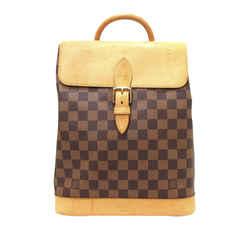 Vintage Authentic Louis Vuitton Brown damier Canvas Canvas Damier Ebene Arlequin