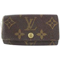 Louis Vuitton Monogram Multicles 4 Key Holder Wallet Case 9lk0122
