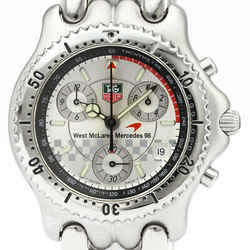 Polished TAG HEUER Sel McLaren Mercedes 1998 F1 Limited Watch CG1117 BF509908