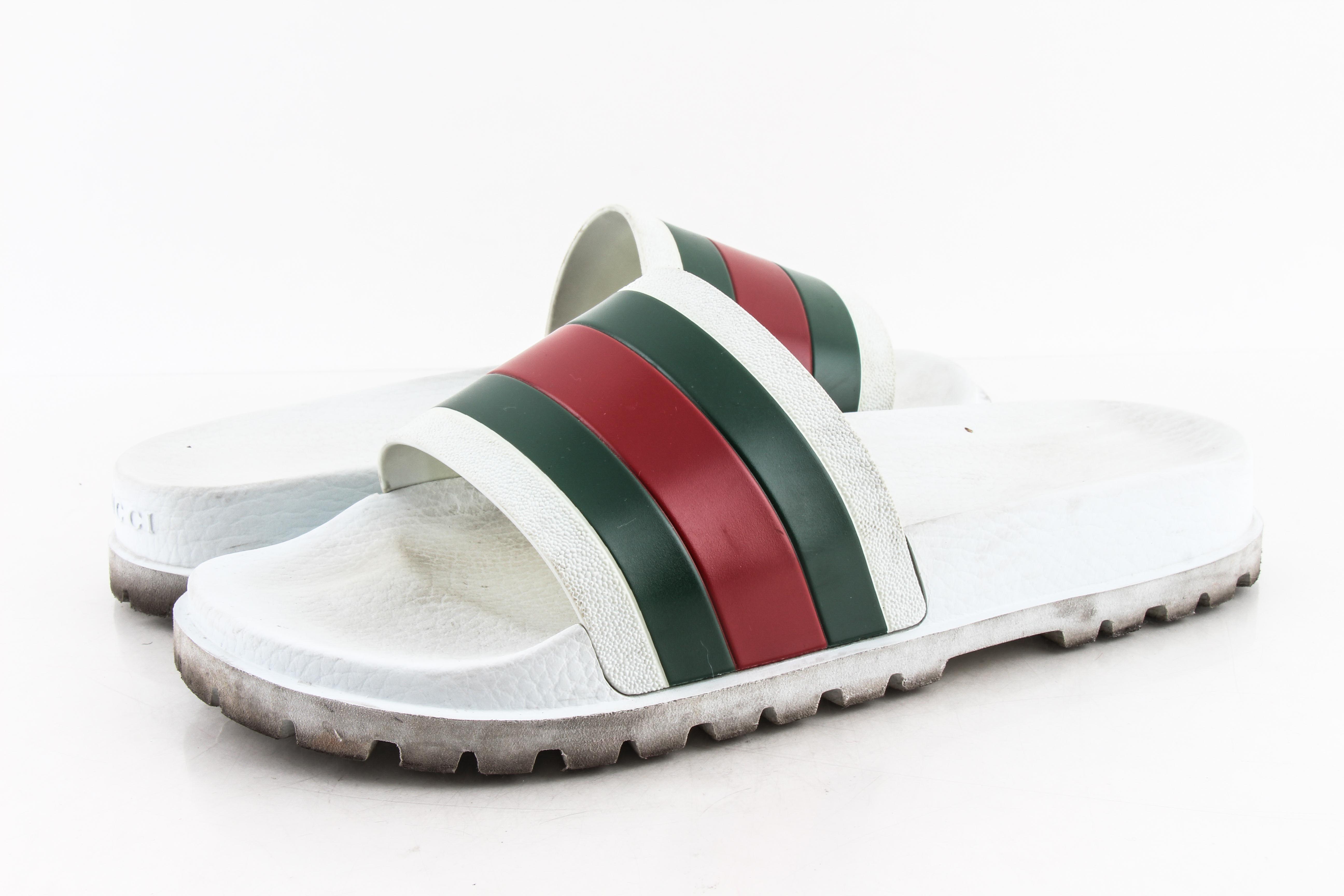 Gucci Web slide sandal   LePrix