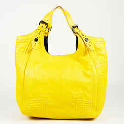 Givenchy Medium Sacca Yellow Leather Shoulder Bag