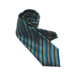 Ermenegildo Zegna Multicolored Stripe Tie Zegna Multicolored Stripe Tie
