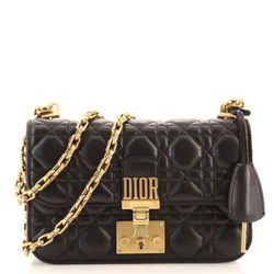 Dioraddict Flap Bag Cannage Quilt Lambskin Small