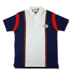 Gucci - GG Polo Shirt - Blue - White Stripe - XS - Extra Small