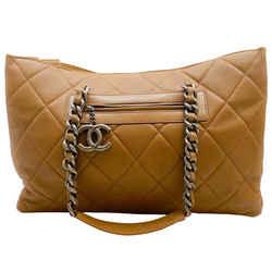 Chanel Coco Casual Caviar Leather Tote