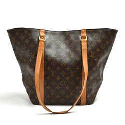 Vintage Louis Vuitton Sac Shopping Monogram Canvas Shoulder Tote Bag LT881