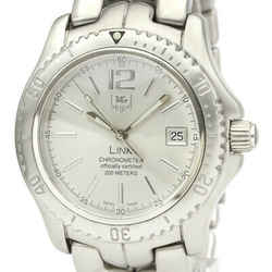 Polished TAG HEUER Link Stainless Steel Automatic Mens Watch WT5113 BF531836