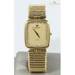 Raymond Weil 25mm Geneve 18kt Electroplated Watch