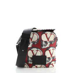 Undercover Zip Messenger Bag Printed Nylon Small