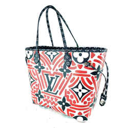 Louis Vuitton Red Crafty Neverfull MM Limited Tribal African 860332