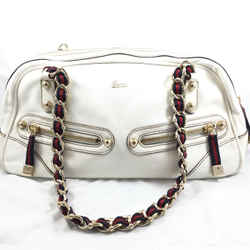 Gucci Leather Shoulderbag with Chain Straps