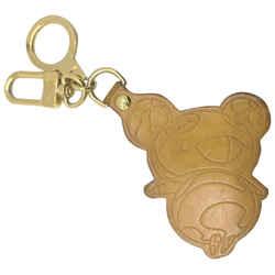 Louis Vuitton Vachetta Murakami Panda Porte Cles Keychain 861492
