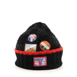 Helsinki Hat Alps Patches Damier Graphite Wool XS
