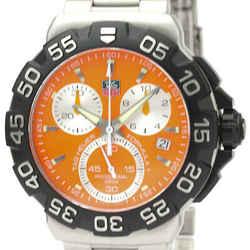 Polished TAG HEUER Formula 1 Chronograph Steel Quartz Watch CAH1113 BF530448
