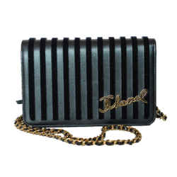 Chanel Black Limited Edition WOC Wallet on Chain Crossbody 2018