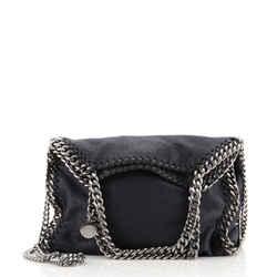 Falabella Fold Over Crossbody Bag Shaggy Deer Mini