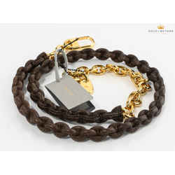 Tom Ford Natalia Lizard Covered Chain Replacement