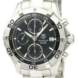Polished TAG HEUER Aquaracer Chronograph Steel Automatic Watch CAF2110 BF530588