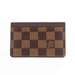 Louis Vuitton Wallet Damier Ebene Coated Canvas Card Holder