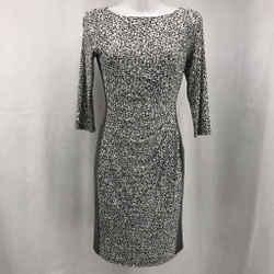Ralph Lauren Grey Long Sleeve Dress 2