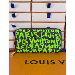 Louis Vuitton x Stephen Sprouse Graffiti Zippy Wallet Rare 7.5L x 4.1H