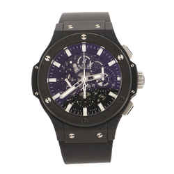 Big Bang Aero Bang Black Magic Chronograph Automatic Watch Ceramic and Rubber 44