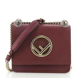 Kan I F Shoulder Bag Leather Small