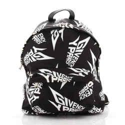 Pocket Backpack Printed Nylon