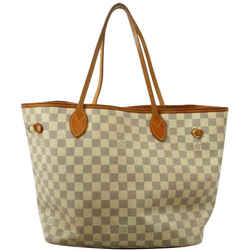 Louis Vuitton Damier Azur Neverfull MM Tote Bag  861351