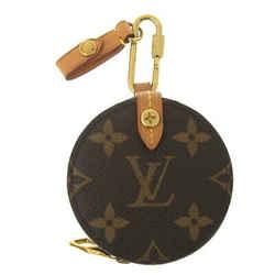 Auth Louis Vuitton Monogram Round Case M68524 Leather Wallet