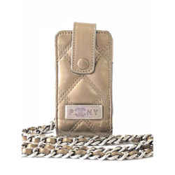 Chanel Bronze Chain Bag Quilted Mini 232976