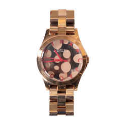 Marc By Marc Jacobs Rose Gold-toned Watch